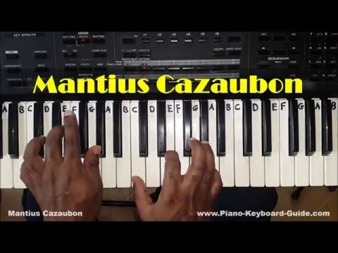 How To Play Augmented Chords On Piano And Keyboard Youtube
