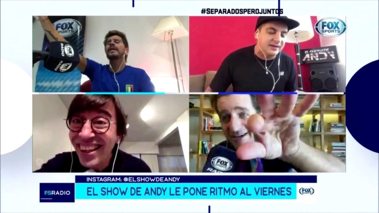 El Show De Andy - FOX SPORTS - #quedateencasa - 8-5-2020
