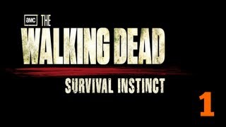 Прохождение The Walking Dead: Survival Instinct — Часть 1