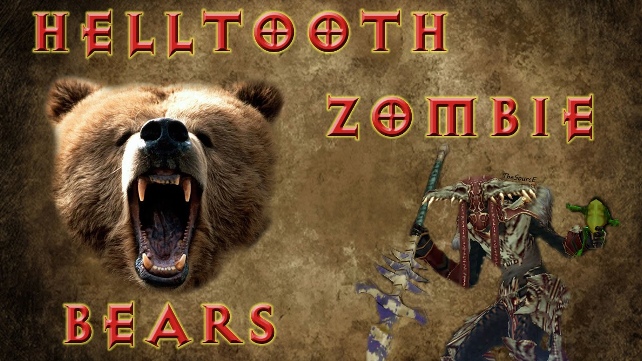 Diablo 3 2 3 witch doctor helltooth zombie bears build for Zombie build
