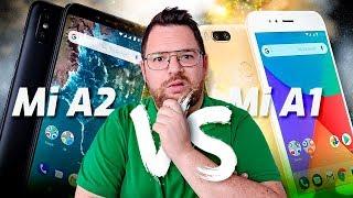 Xiaomi Mi A1 vs Xiaomi Mi A2 | PELEA, PELEA, PELEA