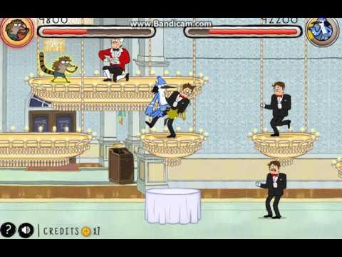 Игра «Обычный мультик удар ярости 2»
