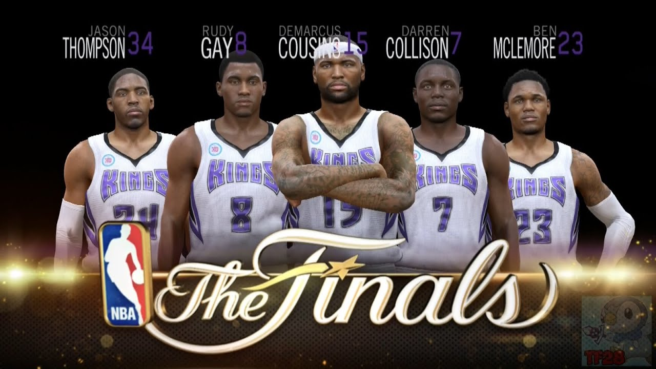 NBA Live 15 Finals Intro & Celebration - Sacramento Kings - YouTube