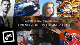 EPIC COMPILATION OF SEPTEMBER 18 VIDEOGAMES RELEASES | SonoraGamers
