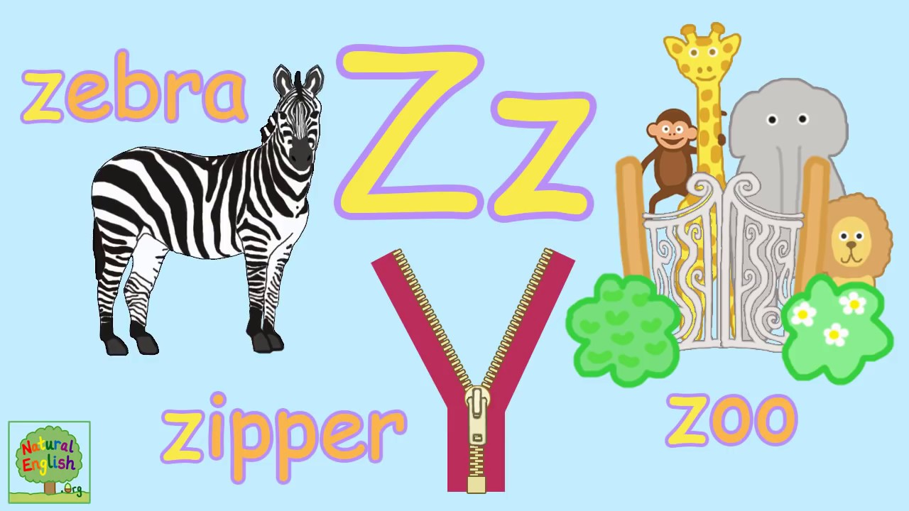 ALPHABET SONG ~ ABC SONG ~ Fun Phonics Song ~ ZEE version