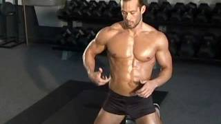 Jud Dean - Side Plank Rotations (Bodybuilding)