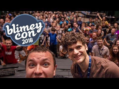We never dreamed it would get this big... (Blimey Con 2018)