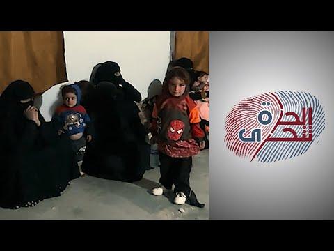 محاولات هروب النساء الداعشيات من مخيم الهول  - 21:58-2020 / 1 / 25