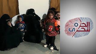 محاولات هروب النساء الداعشيات من مخيم الهول