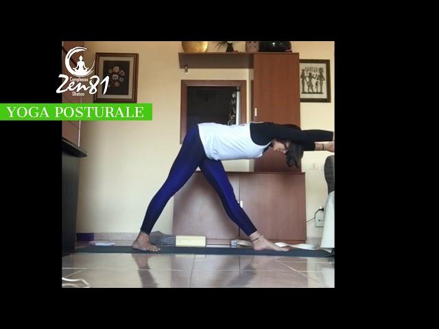 Yoga Posturale lezione breve Zen81