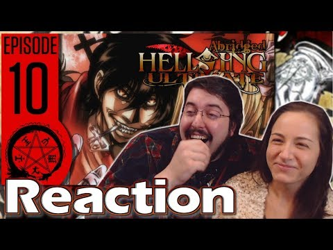 Hellsing Ultimate Abridged Ep. 10 FINALE: #Reaction #AirierReacts