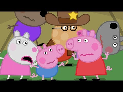 Peppa Pig Official Channel | Peppa Pig's Night Time in the Tent