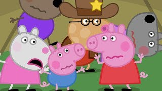 Peppa Pig English Episodes | Peppa Pig's Night Time In The Tent | Peppa Pig Official thumbnail