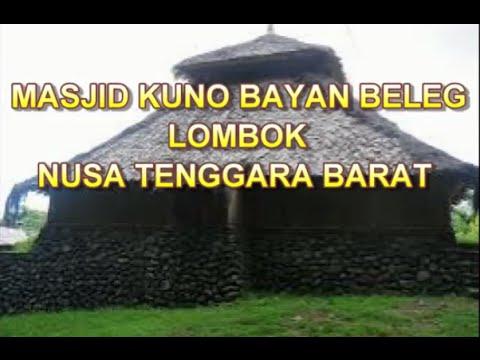 Wisata Indonesia : Masjid Kuno Bayan Beleq Lombok Indonesia, Mopon ID