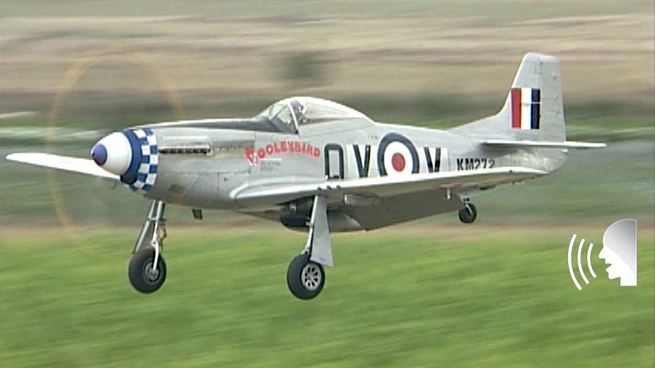 Ww2 P 51d Mustang Fighter In Raf Colours Youtube