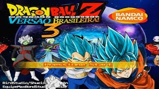 Dragon Ball Z Budokai Tenkaichi 3 Versão Brasileira BETA 2 DUBLADO!! - Menus + Personagens