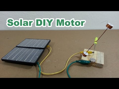 Solar Homemade Electric Motor