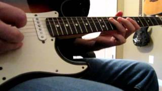 Audioslave - Like A Stone guitar cover WITH TABS (HD)