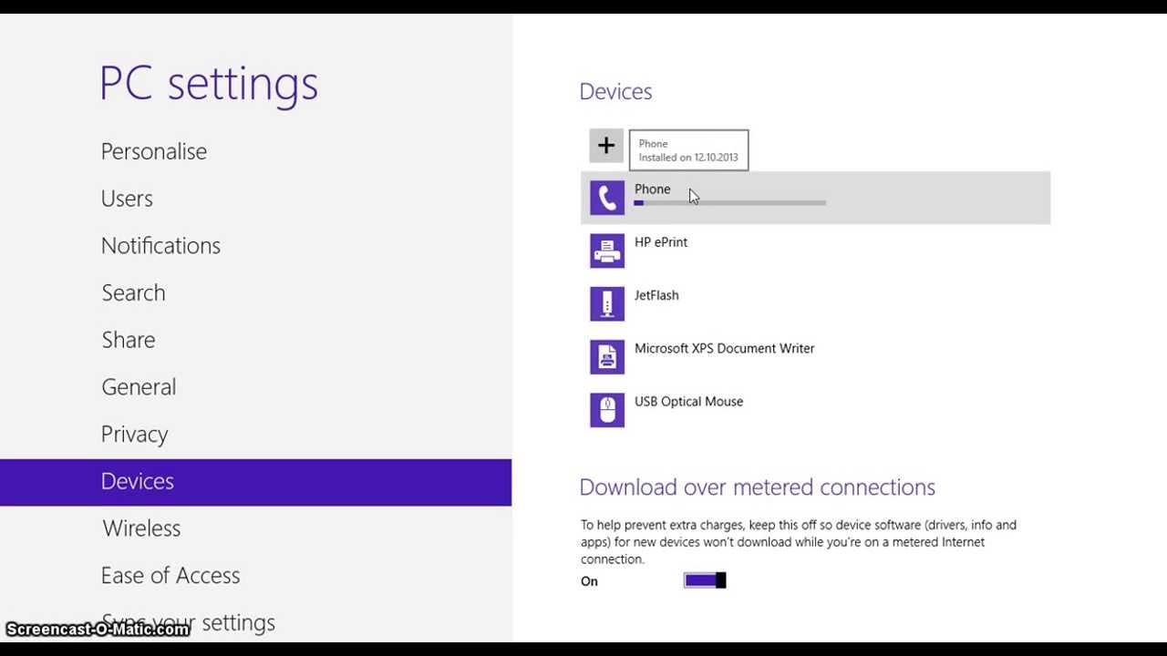 Как включить bluetooth на ноутбуке windows 8. 1.