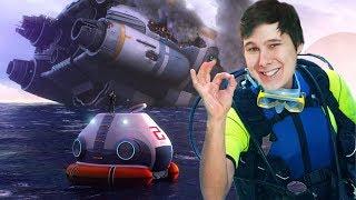 ПОПАЛ В ОТКРЫТОЕ МОРЕ subnautica
