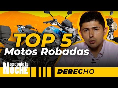 Top 5 De Las Motos Más Robadas En Medellín - Nos Cogió La Noche