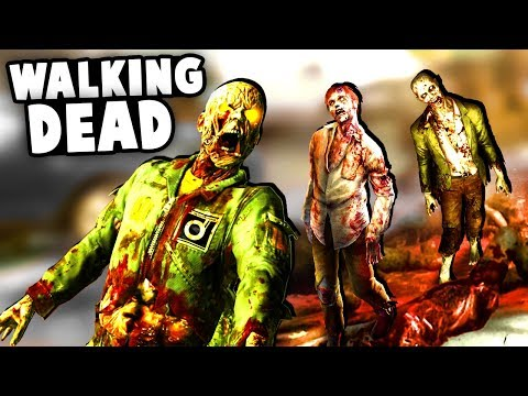 Intense ZOMBIE Fort SIEGE! We're getting OVERRUN!  - (Overkill's The Walking Dead Gameplay) thumbnail