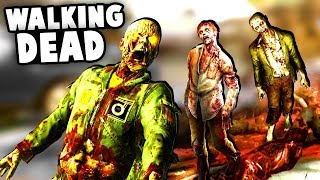Intense ZOMBIE Fort SIEGE! We're getting OVERRUN!  - (Overkill's The Walking Dead Gameplay)