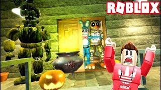 CREEPY TRICK OR TREATING IN ROBLOX!