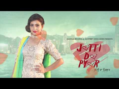 Mangla Records JATTI DA PYAR (Motion Poster) | Luvleen Khera