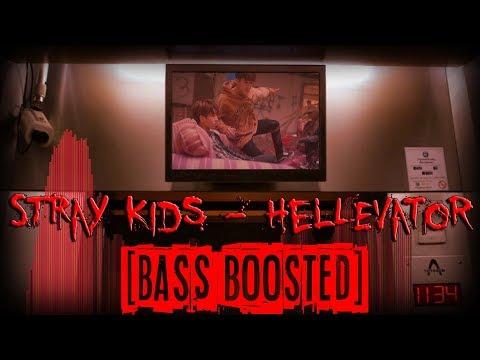 ★BASS BOOSTED★ STRAY KIDS - Hellevator (Spectrum Visualizer MV)