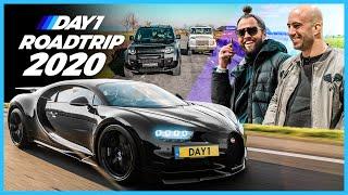 PART 2: Bugatti's, champagne & paardenkracht! | De meest ongeorganiseerde roadtrip ooit! | DAY1
