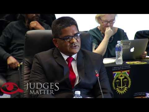 JSC interview of Mr M Maharaj for the KwaZulu-Natal Division of the High Court (Judges Matter)