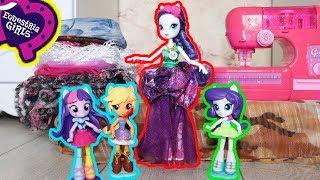 #Куклы #эквестрия #герлз в гостях у принцессы Каденс! Эплджек порвала юбку