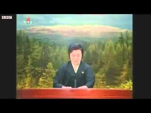 North Korean News Anchor Sadly Announces the Death of their