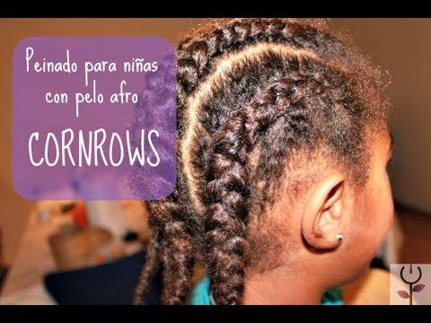 Peinado para niñas de pelo afro