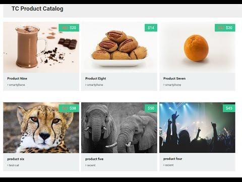 WordPress Product Catalog Plugin - TC Product Catalog ( Free Version)