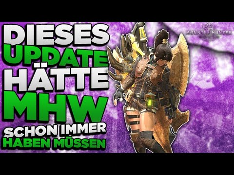 Exklusives PC Update lässt MHW in voller Pracht erscheinen - Monster Hunter High Res Texture Pack thumbnail