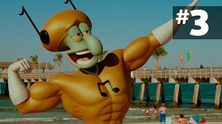 Губка Боб: Планктон Месть Роботов - 3 Серия (Прохождение Игры). Детская Мода Мини Бикини