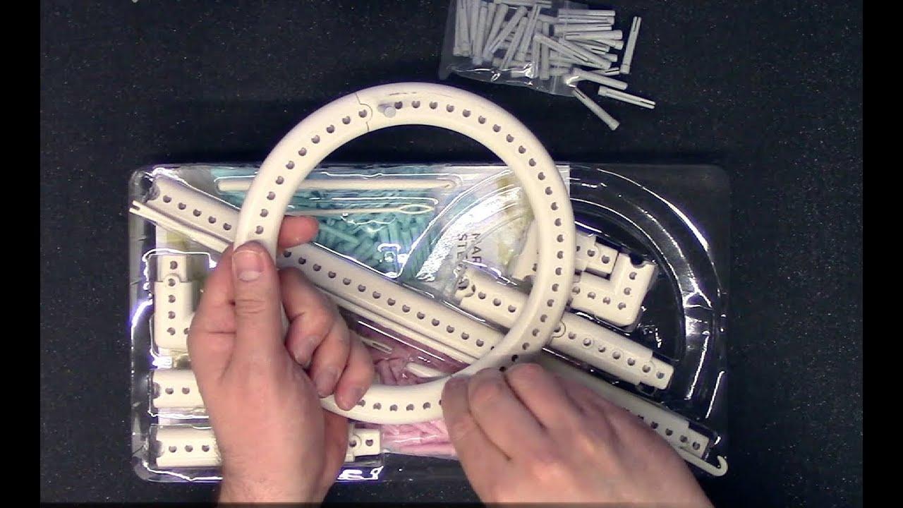 Martha Stewart Knit Weave Loom Kit Review Youtube