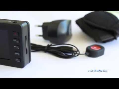 Mini cámara de botón portátil Full HD 1080p con DVR HDMI 60FPS video