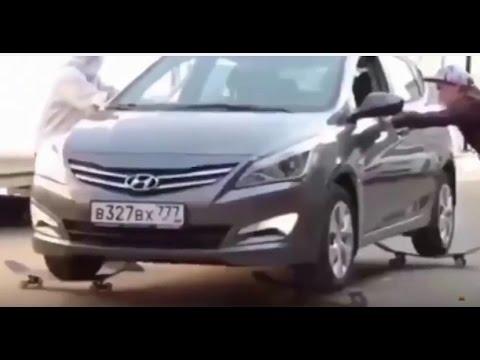 Приколы на дорогах в России
