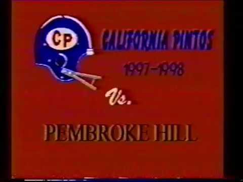 California versus Pembroke Hill
