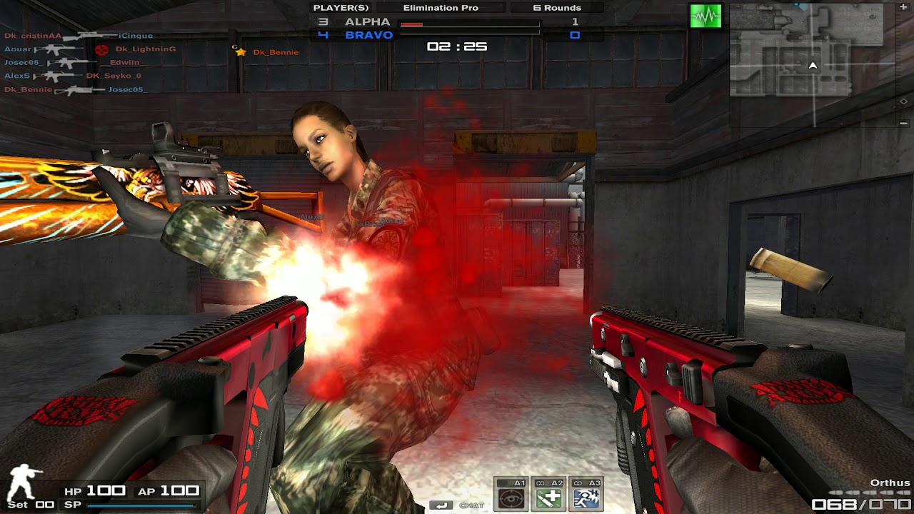 Combat Arms the Classic: _BORN OF BLOOD_ vs Deep_KretionZ (CLAN WARS)