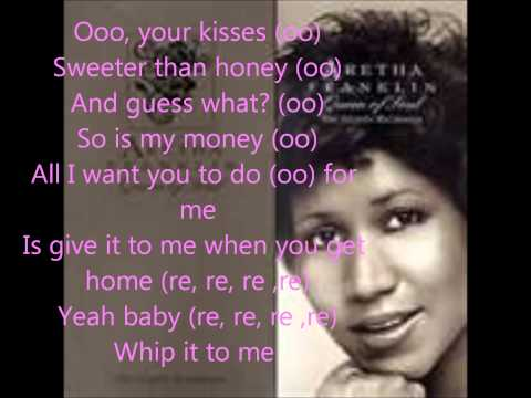 respect by aretha franklin with lyrics