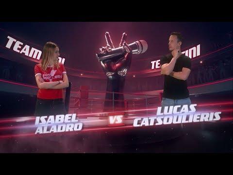 ¡Tini y Carlos Vives coachean a Lucas Catsoulieris y Isabel Aladro! - La Voz Argentina 2018