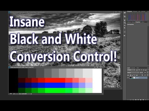 Black and White Conversion: Photoshop
