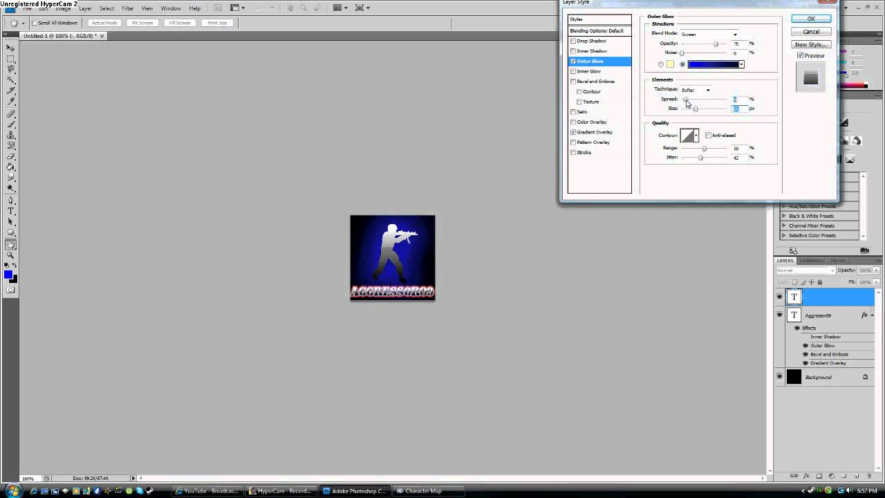 Making A Pic For Steam Using Photoshop Youtube