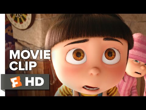 Despicable Me 3 Movie Clip - Agnes Sees a Real Unicorn Horn (2017) | Movieclips Coming Soon