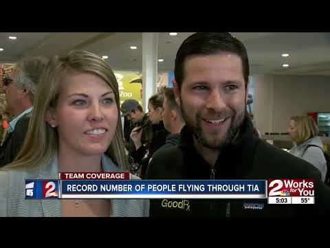 Record number of people Flying