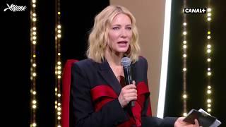 Discours de Cate Blanchett à la Cérémonie de Clôture - Cannes 2018